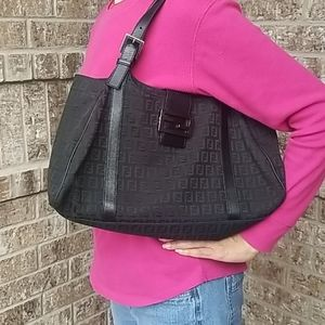 Authentic Fendi Zucca Shoulder Bag